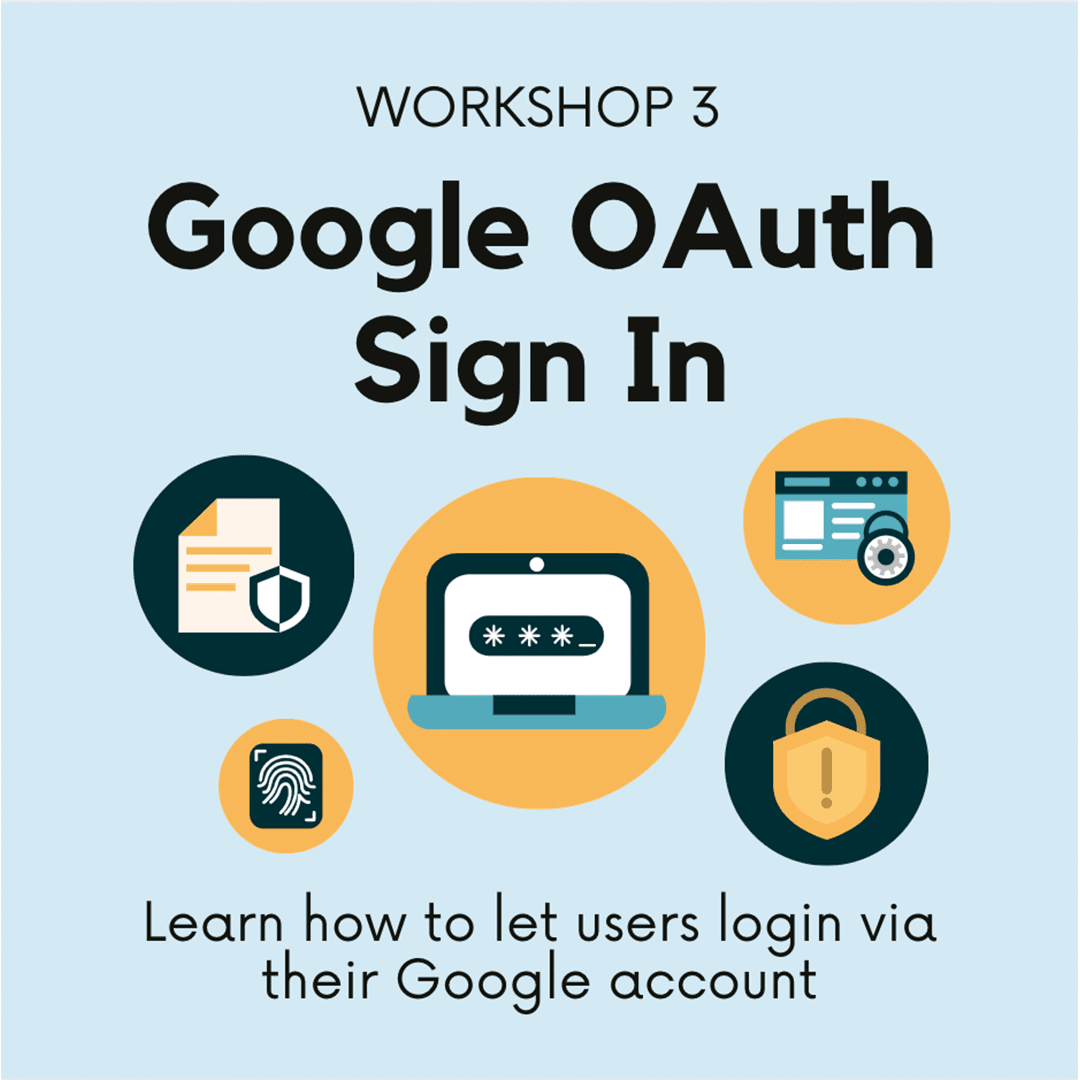 Workshop3: Google OAuth Sign In.